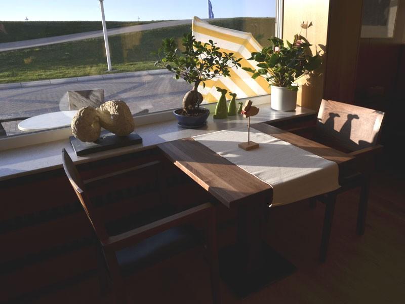 Frühstücksraum mit Ausblick