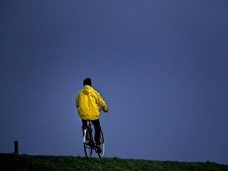 Norderney Radfahrer