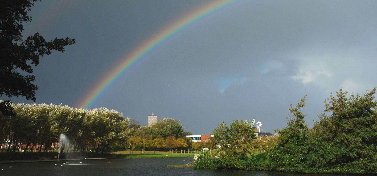 Regenbogen auf Norderney