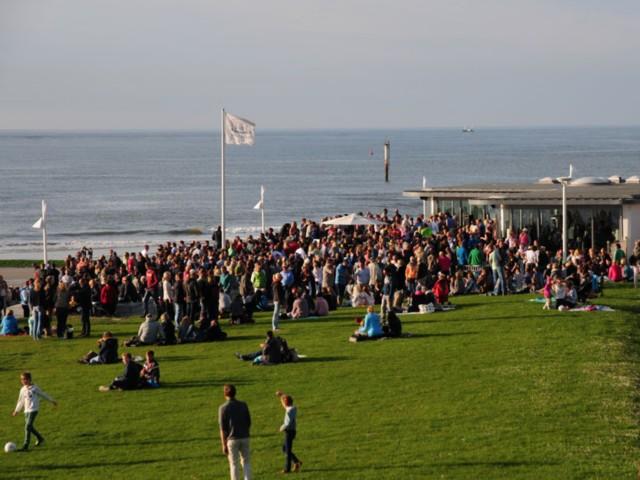 Norderney-Veranstaltung am Meer